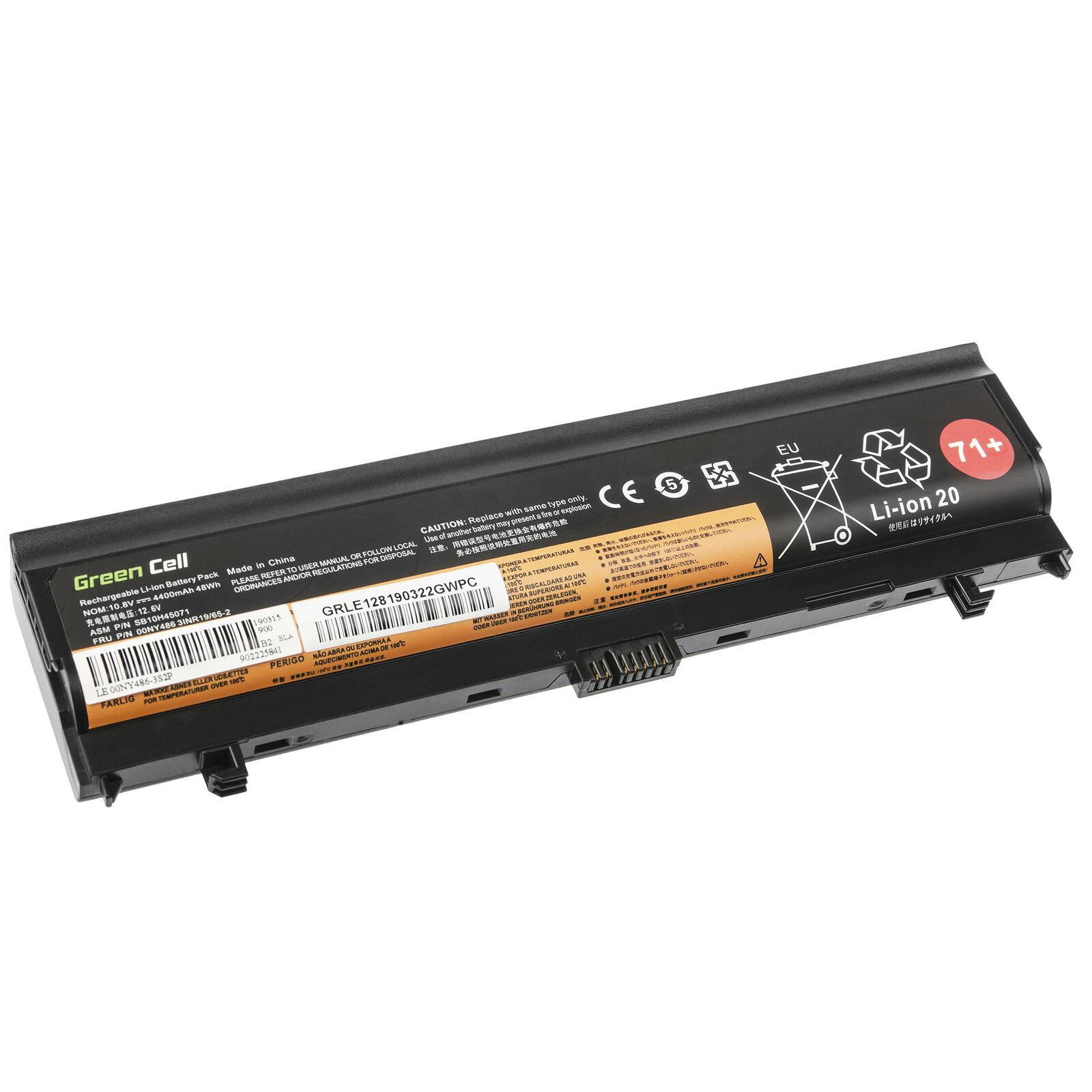 Bateria para Lenovo ThinkPad L560 L570 00NY486 00NY487 00NY488 00NY489 4400mAh